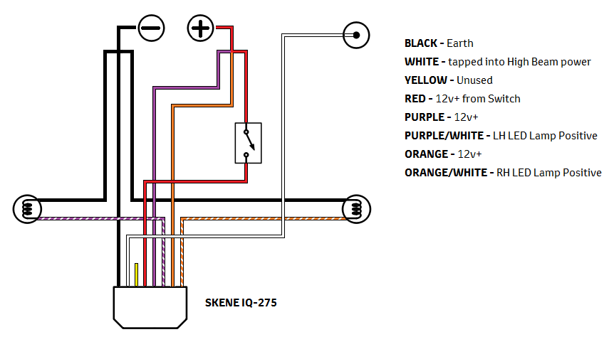 Spotlight Wiring Diagram Negative Switching The Best
